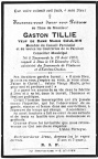 Tillie Gaston veuf Caulier