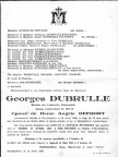 Dubrulle Georges epoux Defoort