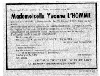 Lhomme Yvonne