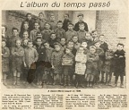 Photo de Classe Sainte-Marie-Cappel - 1938