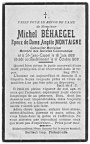 Behaegel Michel epoux Montaigne