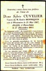 Cuvelier Silvie epouse Hennequin