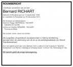 RICHART Bernard