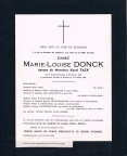 Donck Marie-Louise epouse Tack