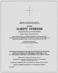 VERBIESE Hubert 1