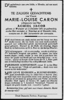 CARON Marie Louise épouse JACOB