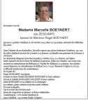 Descamps Marcelle epouse Boeyaert