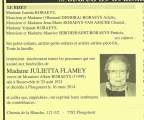 Flamey Julietta veuve Robaeys