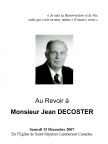 DECOSTER Jean