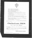 PRUM Charles Louis veuf DUBRULLE
