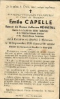 CAPELLE Emile epoux BEHAEGEL