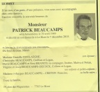 BEAUCAMPS Patrick