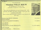 BOUW Willy epoux VERBEKE