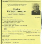 FROMENT Richard
