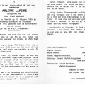 Arlette LAPEIRE ux Ivan MALFAIT o 15-02-1940 a Wervik et + 21-06-1976 a Roeselaere||<img src=_data/i/upload/2019/04/01/20190401102221-f14d1563-th.jpg>